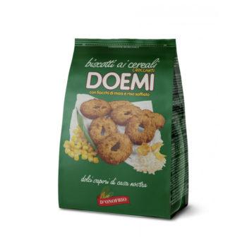 Biscotti Ai Cereali (fiocchi Di Mais E Riso Soffiato)