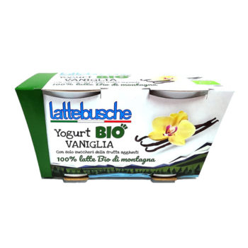 Yogurt Biologico Alla Vaniglia