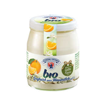 Yogurt Biologico All'arancia (vasetto Vetro 150g)