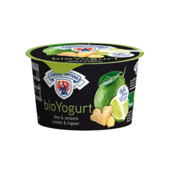 Yogurt Biologico Lime E Zenzero (vasetto 250g)