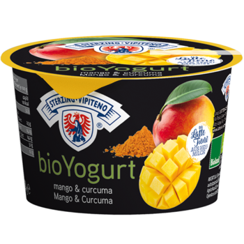 Yogurt Biologico Mango E Curcuma (vasetto 250g)